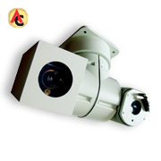 Dual-video thermal PTZ camera covers 5km