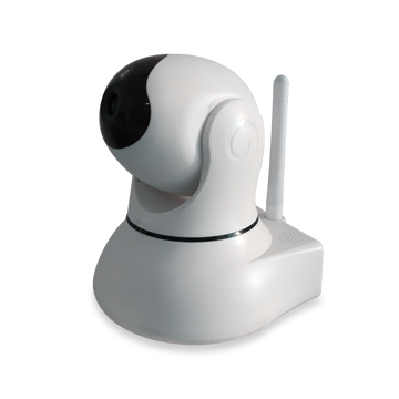 HD IP camera has IR-cut filter, 2-way audio