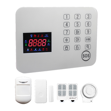 Wireless home GSM alarm kit works via app