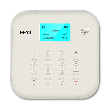 Wi-Fi, GSM, PSTN triple-network alarm panel