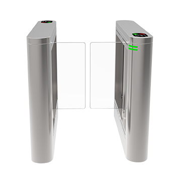 Anti-strike flap-barrier turnstile