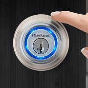 Kwikset is back with a lock that opens at the touch of a finger