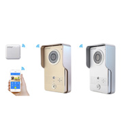 Wi-Fi video doorphone, -bell with PoE