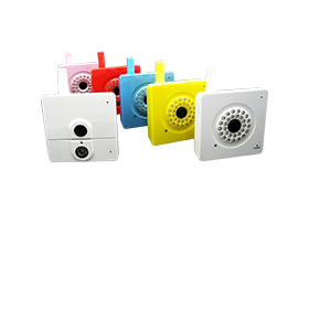 Colorful 15m night vision IP camera