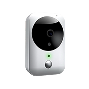 Battery-powered wireless IP camera sends feed to mobile phone