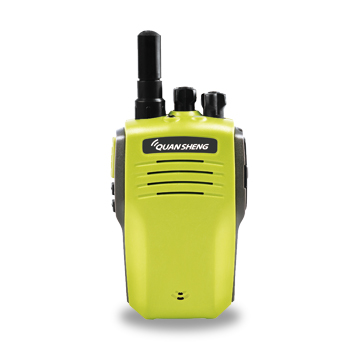 2W mini walkie-talkie in customizable colors