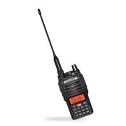 Handheld two-way radio supports VOX function