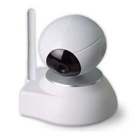 Baby monitor supports H.264 compression