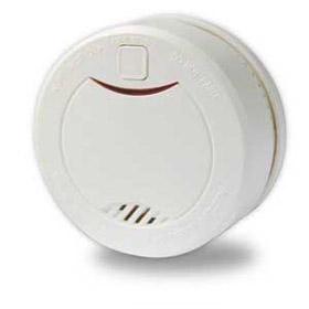 Low-power smoke detector