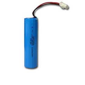 Li-ion battery provides 2,200mAh capacity