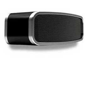 Bluetooth speaker displays graphic equalizer