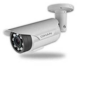 4MP IP bullet camera fitted with eight IR LED arrays
