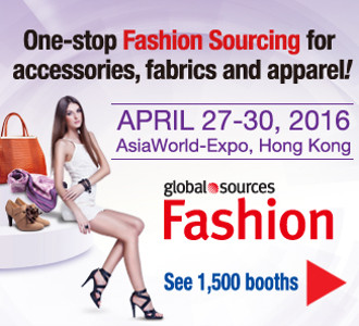 One-stop Fashion Sourcing accessories, fabrics and apparel!