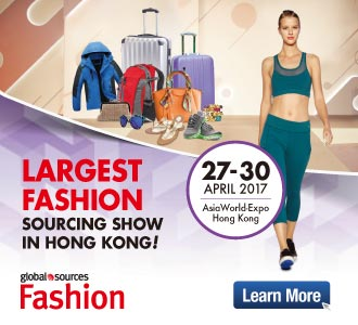 Largest Fashion Sourcing Show in Hong Kong!