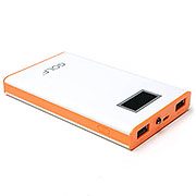 8,000mAh Portable Power Bank with LCD display (Available in 4 colors)