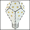 LED Bulb, 1,200-1,600Lm, supports 30,000 hours lifespan