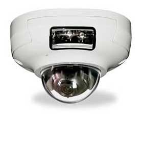 IP dome camera delivers 1080p at 25/30fps