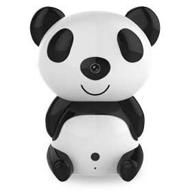 Cloud-based IP camera resembles panda