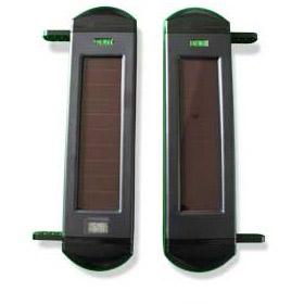 Wireless solar-powered <br>3-beam sensor