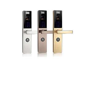 Power-saving fingerprint door lock