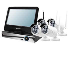 Real-time Wi-Fi NVR kit links 4 IP cameras