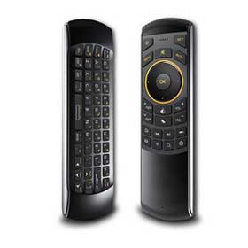 Wireless keyboard/remote suits various devices